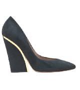 Chloé蔻依2013年秋季系列深蓝色高跟鞋