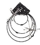 Giorgio Armani乔治·阿玛尼多层镶钻耳环