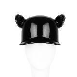 Givenchy纪梵希黑色漆皮鸭舌帽