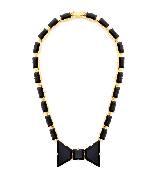 Kate Spade2013春季Black Tie Optional系列黑色小领结项饰