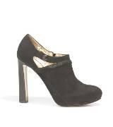 Anteprima黑色麂皮高跟鞋