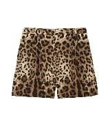 Dolce&Gabbana 豹纹短裤