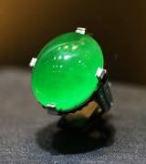 卡地亚特级翡翠戒指