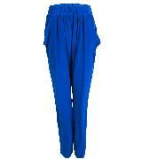 KOOKA 2013年春夏蓝色哈伦裤