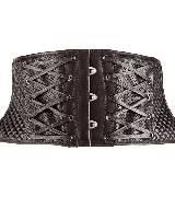 高缇耶Jean Paul Gaultier绑带设计腰封