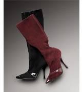 Bottega Veneta葆蝶家黑色牛皮长靴