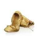 AdR for H&M系列金色芭蕾鞋