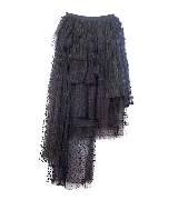 Chloé蔻依2013年冬季系列黑色纱质半裙