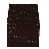 Loewe罗意威深棕色亮点短裙