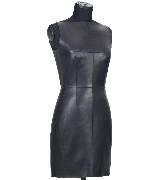 Loewe 小羊皮无袖连身皮裙