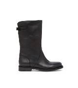 D&G黑色牛皮短靴