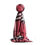 巴宝莉Burberry格纹羊绒围巾