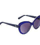 Dior迪奥蓝色渐变太阳镜