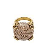 GUCCI Horsebit系列钻石戒指