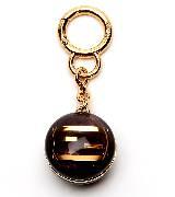 芬迪Fendi树脂球坠饰钥匙扣