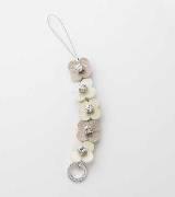 Anteprima米色花卉挂饰