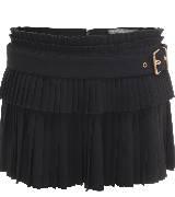 Alexander McQueen亚历山大·麦昆2014年春夏系列黑色褶皱短裙