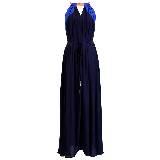 KOOKAÏ 2013年春夏黑色V领连衣裙