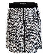 KOOKA 2013年春夏黑白亮片裹身半身裙