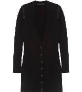 Karl Lagerfeld卡尔•拉格斐朋克系列黑色羊毛衫