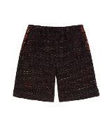 Mulberry 咖色之纹短裤