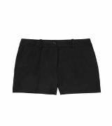 迈克高仕(MICHAEL KORS)黑色休闲短裤