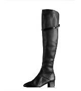 巴宝莉Burberry马术灵感皮靴