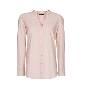 MANGO 棉质粉色女衬衫
