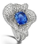 宝玑表Breguet宝玑蓝色钻戒