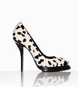 Alexander Wang黑白斑点高跟鞋