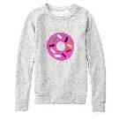 Kate Spade凯特·丝蓓2013秋冬系列甜甜圈印花运动衫