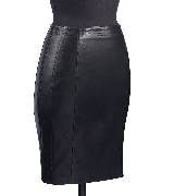Loewe 小羊皮弹力皮裙
