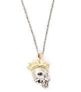 Alexander McQueen亚历山大·麦昆2014年春夏系列骷髅头项链