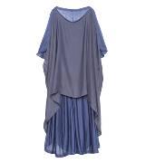 Anteprima蓝色垂坠感连衣裙
