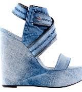迪赛(Diesel)SS2013春夏牛仔厚底高跟鞋