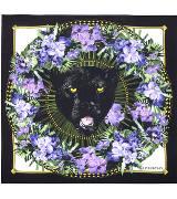 Givenchy纪梵希动物头像印花方巾