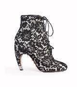 Givenchy蕾丝印花短靴