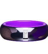 Dior迪奥Christian Dior荧光紫迷彩树脂手环