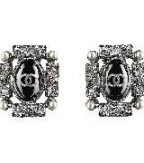 Chanel香奈儿2014春夏系列巴洛克式耳环