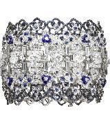 CHUAMET尚美巴黎Hortensia高级珠宝系列白金手链