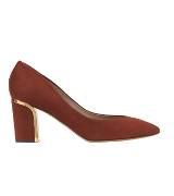 Chloé蔻依2013年秋季系列红色矮跟鞋