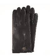 Furla芙拉经典款黑色皮手套