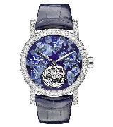 CHUAMET尚美巴黎Hortensia高级珠宝系列限量版陀飞轮腕表