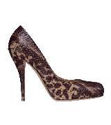 Dior迪奥动物纹高跟鞋