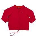 Lacoste 红色拉链衫