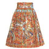 Dolce & Gabbana复古图案印花半裙