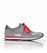 Alexander Wang灰色麂皮运动鞋