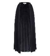 高缇耶Jean Paul Gaultier2013秋冬女装系列黑色纱质褶皱半裙