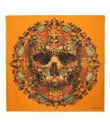 Alexander McQueen亚历山大•麦昆Damien Hirst合作系列TITYUS大号骷髅头羊绒围巾