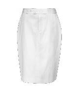Ports 1961 象牙白铅笔裙